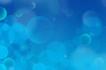 Blue-Cyan background Flarium Bubbles 20