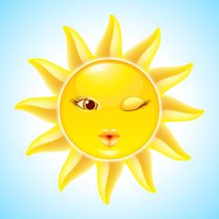 Cartoon Sun Characters