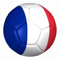 3d balón bandera Francia