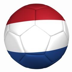 3d balón bandera holanda