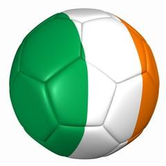 3d balón bandera Irlanda