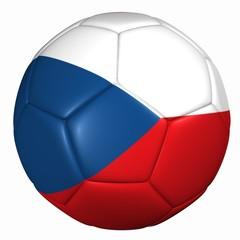 3d balón bandera Republica Checa