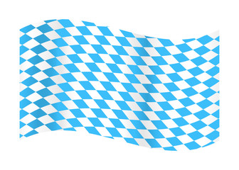 Flag of Bavaria Fototapete