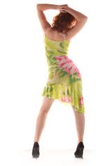 Frau Rücken Hüftschwung
