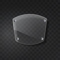 Glass vector board