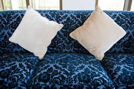 pillow on a sofa