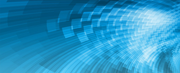 abstract background, blue perspective website banner