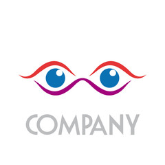 Logo eyes # Vector