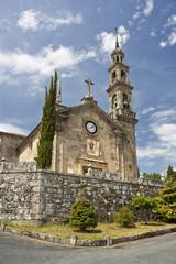 Iglesia de Bastavales en Brión, Coruña