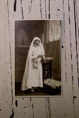 vieille photographie de religion.