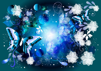 Beautiful glamour vector background