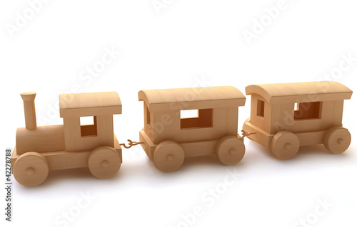 """""""Wooden Toy Train"""" Stock photo and royalty-free images on ..."""