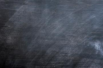 Blank smudged blackboard