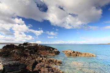 Scottish highland beach