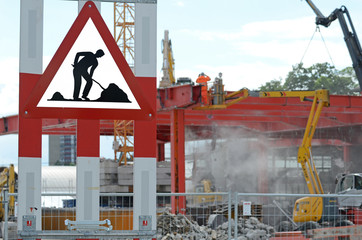 Achtung Bauarbeiten