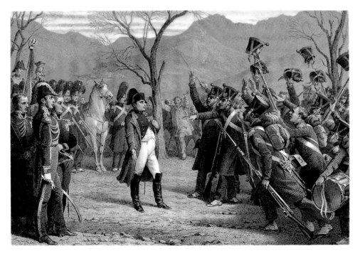 Hourrah ! Napoleon Bonaparte - beginning 19th century