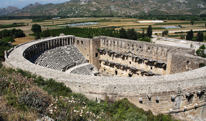 Old theater Aspendos
