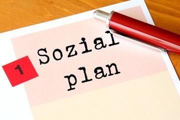 Sozialplan
