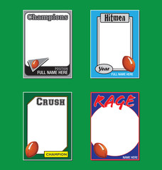 Football Trading Card Football Cards