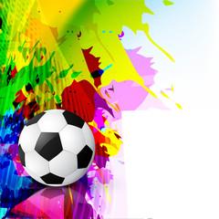 grunge style vector football