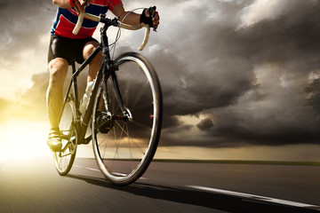 Fototapete - Racing Bike