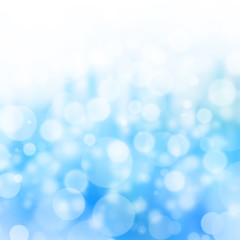 Beautiful Nature Bokeh and blue background