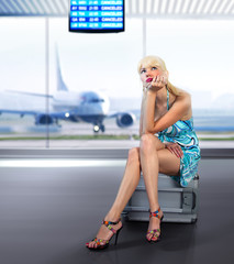 passenger misses at airport