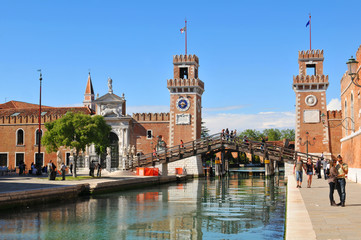 Foto op Plexiglas Venetie Arsenal, Venice (Italy)