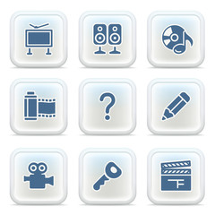 Internet icons on buttons 28