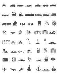 Symbole Verkehr
