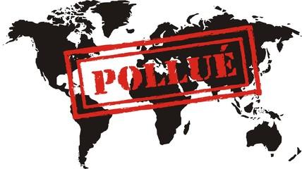 planète pollué