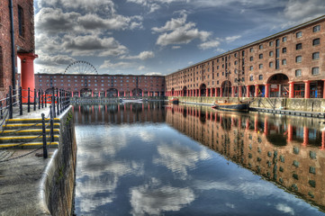 Albert Dock, Liverpool, UK.