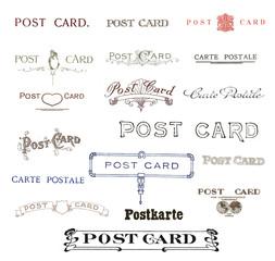 Historische Texte Postkarte