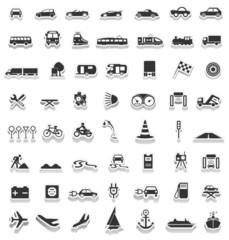 Stickers Symols Traffic