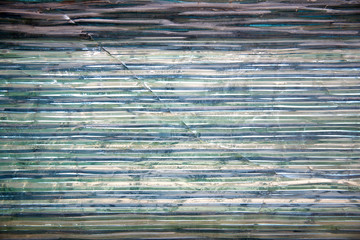 Transparent glass wall i