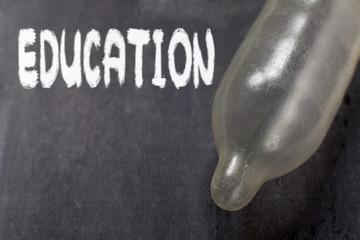 éducation sexuelle préservatif masculin