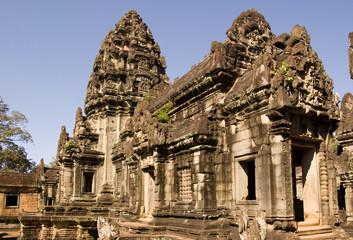Central Prasat, Banteay Samre Temple, Angkor, Cambodia