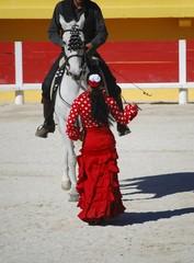 Dressage & flamenco