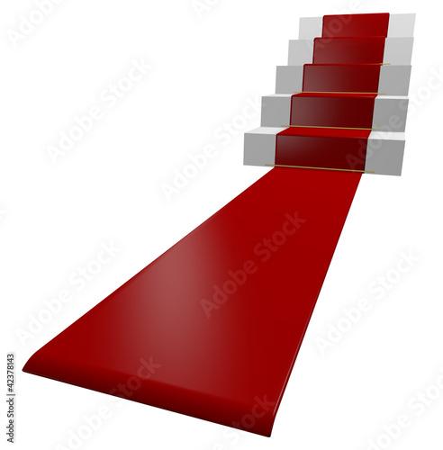 escalier tapis rouge photo libre de droits sur la banque d 39 images image 42378143. Black Bedroom Furniture Sets. Home Design Ideas