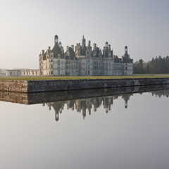 Chambord chateau in the Loire Valley of France
