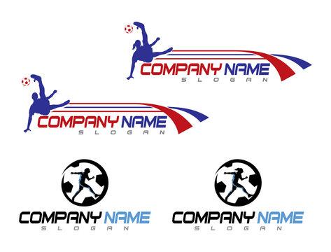 four soccer logos