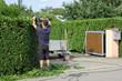 Gartenarbeit, Hausmeister
