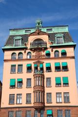 Wohnhaus in Stockholms historische Altstadt