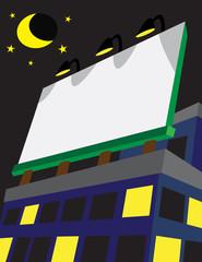 Billboard on Building Vector