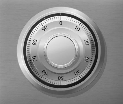 Combination lock wheel