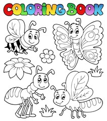 Coloring book cute bugs 2
