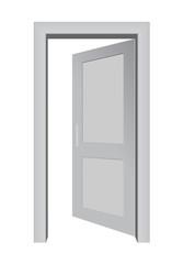 3d open door