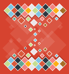 abstract background cube design vector illustration eps10
