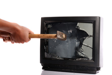 Destroy your TV