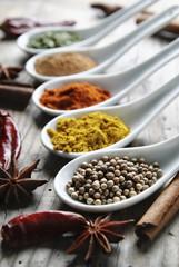 Door stickers Aromatische Spices